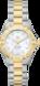 TAG HEUER AQUARACER Incolore Plaqué bicolor Acier Blanc