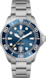 TAG Heuer Aquaracer Professional 300 Sans couleur Acier Acier Bleu