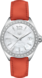 TAG HEUER FORMULA 1 Orange Cuir Acier Blanc
