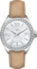 TAG HEUER FORMULA 1 Beige Cuir Acier Blanc