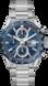 TAG Heuer Carrera Incolore Acciaio Acciaio Blu