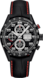 TAG HEUER CARRERA Nero Pelle, alligatore Titanio Nero