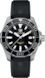 TAG HEUER AQUARACER Black Rubber Steel ブラック
