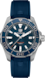 TAG HEUER AQUARACER Blue Rubber Steel ブルー