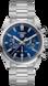 タグ・ホイヤー カレラ キャリバー ホイヤー02 クロノグラフ カラーなし スティール製 スティール製 ブルー