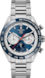 タグ・ホイヤー カレラ キャリバーホイヤー02 スポーツクロノグラフ カラーなし スティール製 スティール&セラミック ブルー