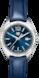 タグ・ホイヤー フォーミュラ1 ブルー レザー ステンレススティール製 ブルー