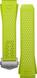 ライムグリーンのラバーストラップ