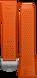 オレンジのラバーストラップ