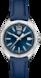 タグ・ホイヤー フォーミュラ1 ブルー レザー スティール製 ブルー