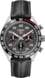 TAG Heuer Carrera Porsche Edição Especial Cronógrafo Preto Couro Aço e cerâmica Preto