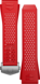 Pulseira em borracha vermelha
