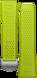 Pulseira em borracha verde-limão