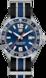 TAG Heuer Formula 1 Preto, cinza e azul Nato Aço Azul