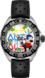 TAG Heuer Formula 1 Alec Monopoly Special Edition Preto Borracha Aço HX0S94
