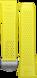 Pulseira em borracha amarelo-limão