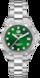 TAG Heuer Aquaracer Бесцветный Сталь Сталь Зеленый