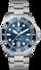 TAG Heuer Aquaracer Professional 300 Бесцветный Сталь Сталь Синий