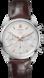 TAG HEUER CARRERA(卡萊拉)腕錶 棕色 鱷魚皮 精鋼 白色