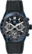 TAG HEUER CARRERA Black Rubber and Alligator 黑色