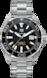 TAG Heuer Aquaracer(競潛)腕錶 無色 精鋼 鋁鋼 黑色