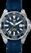 TAG Heuer Aquaracer(競潛)腕錶 藍色 橡膠 鋁鋼 藍色