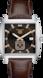 TAG Heuer Monaco(摩納哥)腕錶 棕色 鱷魚皮 精鋼 棕色