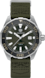 TAG Heuer Aquaracer(競潛)腕錶 卡其色 尼龍 精鋼 HX0S04