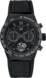 TAG Heuer Carrera(卡萊拉)系列 黑色 橡膠和鱷魚皮 鈦金屬和陶瓷 HX0P28