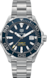 TAG Heuer Aquaracer(競潛)腕錶 無色 精鋼 鋁鋼 藍色