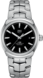 TAG Heuer Link(林肯)腕錶 無色 精鋼 精鋼 黑色