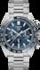 TAG Heuer Carrera(卡萊拉)系列 無色 精鋼 精鋼和陶瓷 藍色