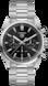 TAG HEUER CARRERA(卡萊拉)腕錶 無色 精鋼 精鋼 黑色