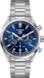 TAG HEUER CARRERA(卡萊拉)腕錶 無色 精鋼 精鋼 藍色