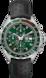 TAG Heuer Formula 1(F1)手錶 黑色 皮革 鋁鋼 綠色