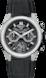 TAG Heuer Carrera(卡萊拉)系列 黑色 橡膠和鱷魚皮 黑色PVD塗層鈦金屬 黑色