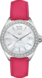 TAG Heuer Formula 1(F1)手錶 粉紅色 皮革 精鋼 白色