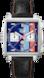 TAG Heuer Monaco(摩納哥)腕錶 黑色 皮革 精鋼 Blue