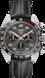 TAG Heuer Carrera(卡萊拉)保時捷特別版計時自動腕錶 黑色 皮革 精鋼和陶瓷 黑色