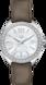 TAG Heuer Formula 1(F1)手錶 灰色 皮革 精鋼 白色