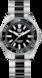 TAG HEUER AQUARACER(競潛)系列 無色 精鋼和陶瓷 精鋼 黑色