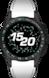 TAG HEUER CONNECTED腕錶 GOLF 白色、黑色和綠色 橡膠 鈦金屬