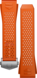 橙色橡膠錶帶