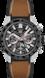TAG Heuer Carrera(卡萊拉)系列 無色 橡膠和皮革 精鋼和陶瓷 黑色