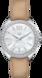 TAG Heuer Formula 1(F1)手錶 米色 皮革 精鋼 白色