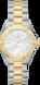 TAG Heuer Aquaracer(競潛)腕錶 無色 雙色鍍層 精鋼 白色