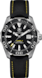 TAG Heuer Aquaracer(競潛)腕錶 黑色 尼龍 精鋼 黑色