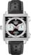 TAG HEUER MONACO(摩纳哥系列)腕表: 黑色 皮革 精钢 黑色