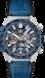 TAG Heuer Carrera(卡莱拉系列)腕表 蓝色 鳄鱼皮 精钢和陶瓷 蓝色