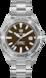 TAG Heuer Aquaracer(竞潜系列)腕表 无色 精钢 精钢 棕色
